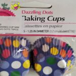 Baking Cup Mini Dazzling Dots by Wilton
