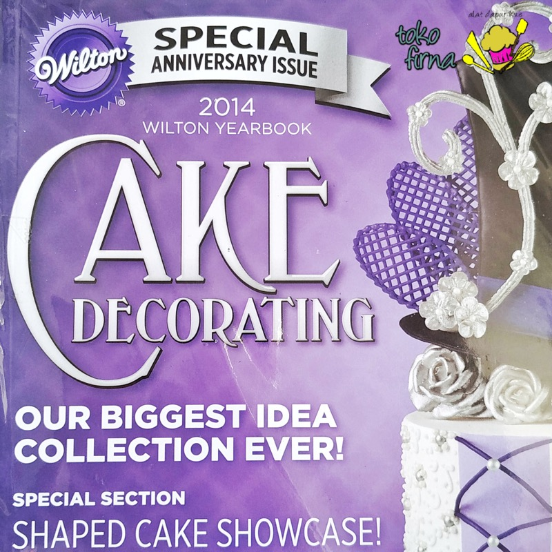 Buku Kumpulan Ide Cake Decorating - Wilton Yearbook 2014