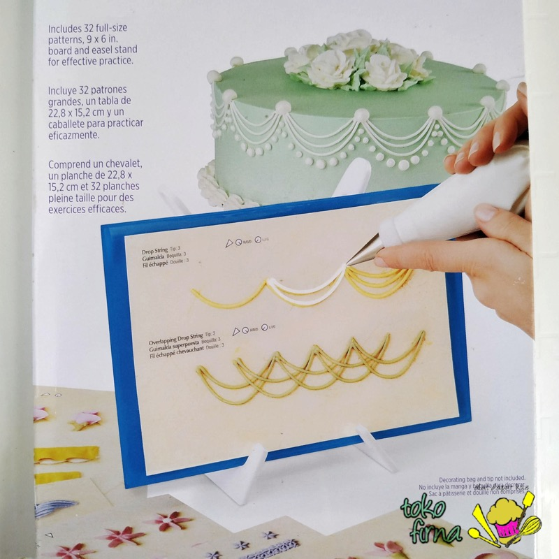 Cake Decorating Practice Board