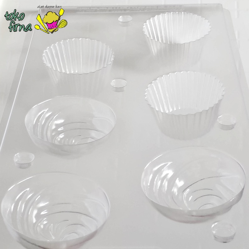 Candy Mould Cupcake Cetakan Permen