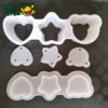 Cetakan Onigiri - Heart Star Bear - 05