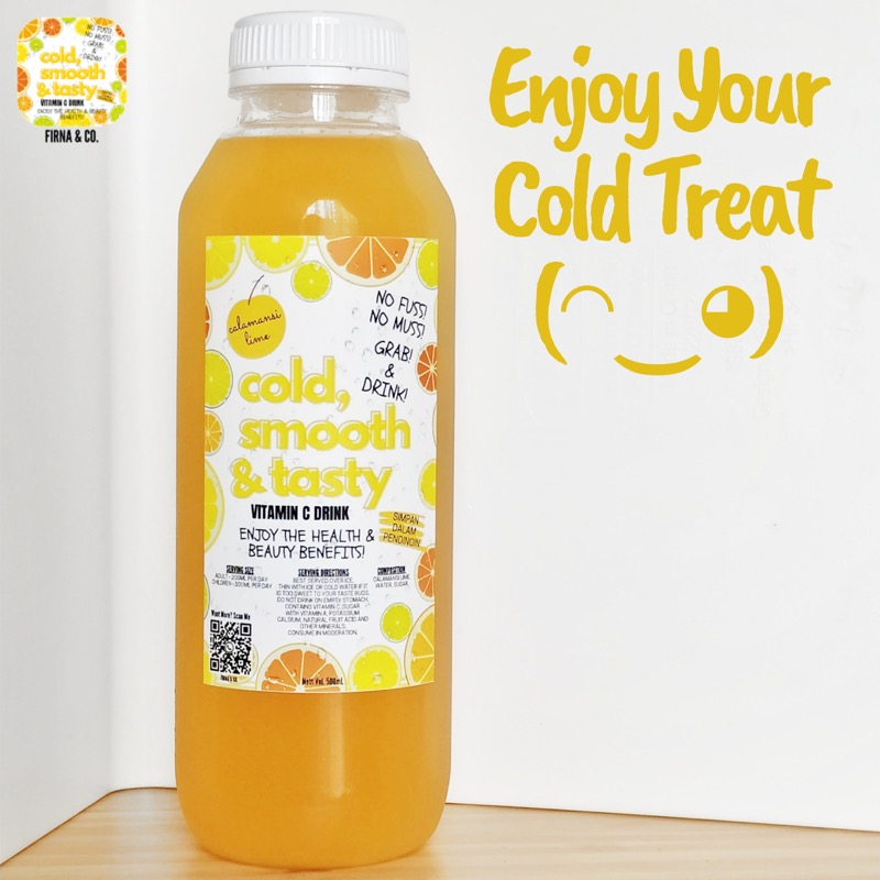 Cold Smooth and Tasty Firna n Co Calamansi Lime Drink CK05