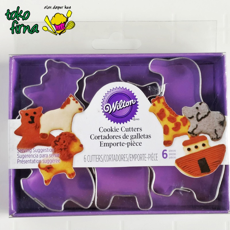 Cookie Cutter Mini - Animals - Zoo Theme - 01
