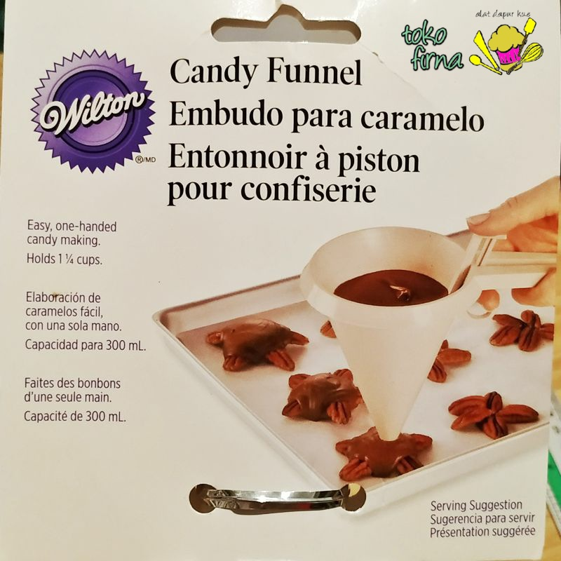 Corong Takar Wilton Candy Funnel Easy Pour