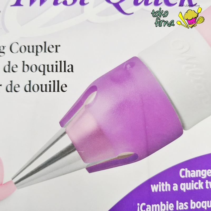 Coupler Quick Twist by Wilton - 07