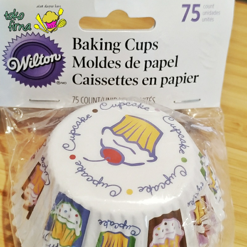 Baking Cup Cupcakes Heaven Paper Cup by Wilton isi 75