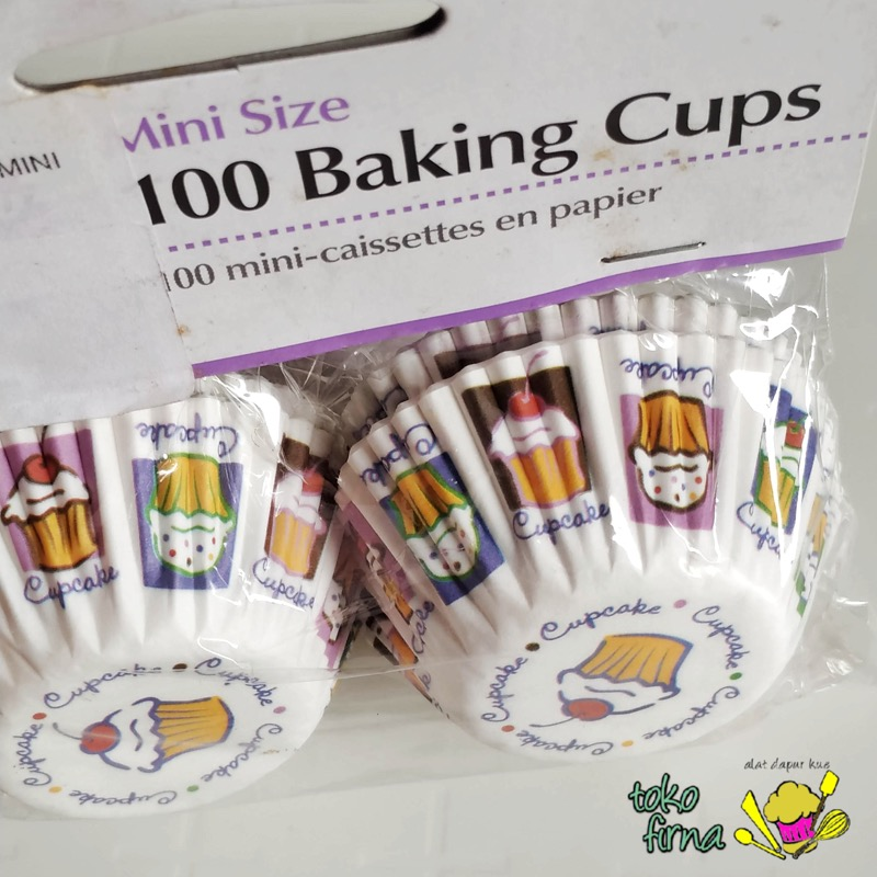 Cupcake Heaven Mini Baking Cup