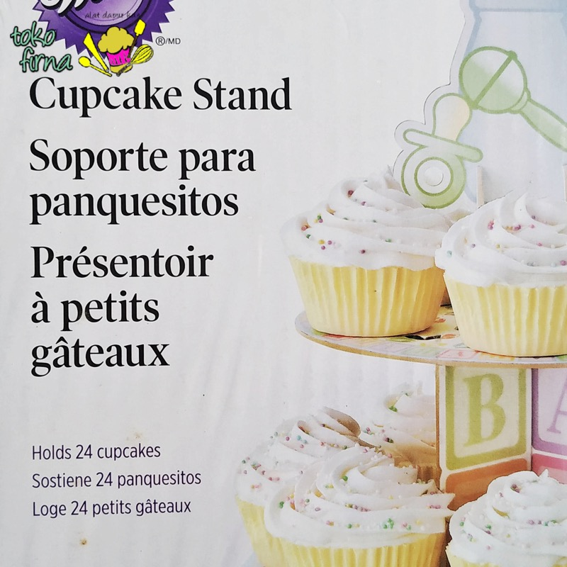 Cupcake Stand Cupcake Holder - Baby Shower