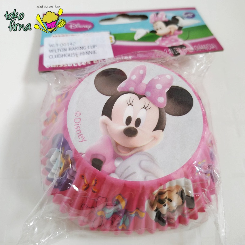 Cupcake Liner Baking Cup – Minnie Mouse