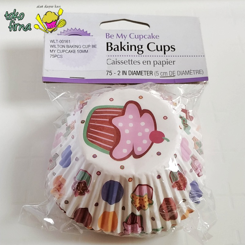 Cupcake Liner Baking Cup - Be My Cupcake