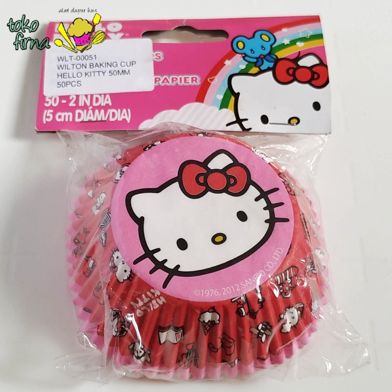 Cupcake Liner Baking Cup - Hello Kitty Sanrio