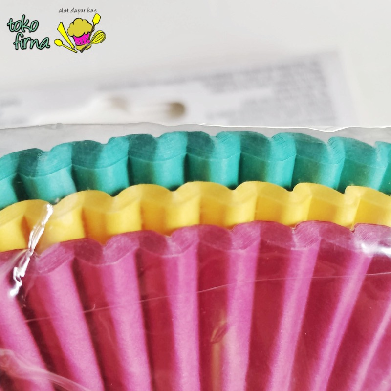 Cupcake Liner Baking Cup - Jewel Colours
