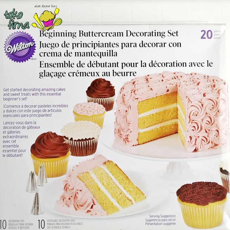 Beginning Buttercream Decorating Set
