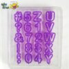 Alphabets and Numbers Cut Out by Wilton