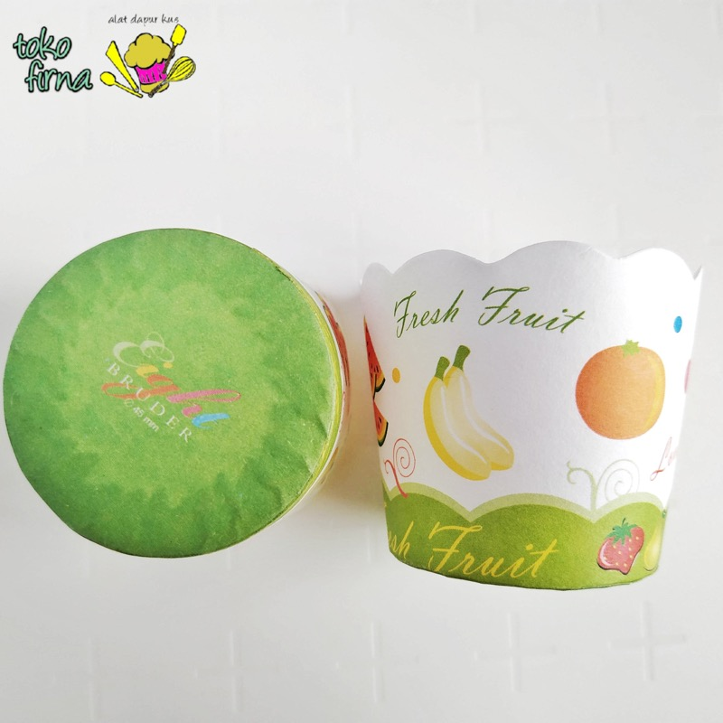 Muffin Cup Bruder Cup Baking Cup - Fresh Fruit - 01