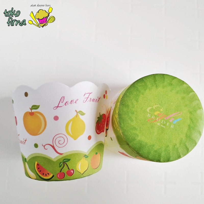 Muffin Cup Bruder Cup Baking Cup - Fresh Fruit - 03