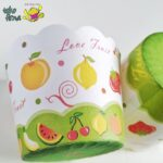 Muffin Cup Bruder Cup Baking Cup - Fresh Fruit - 04