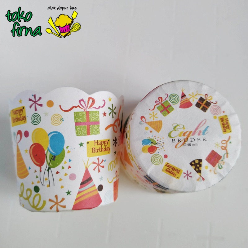 Muffin Cup - Bruder Cup - Motif Birthday - 01