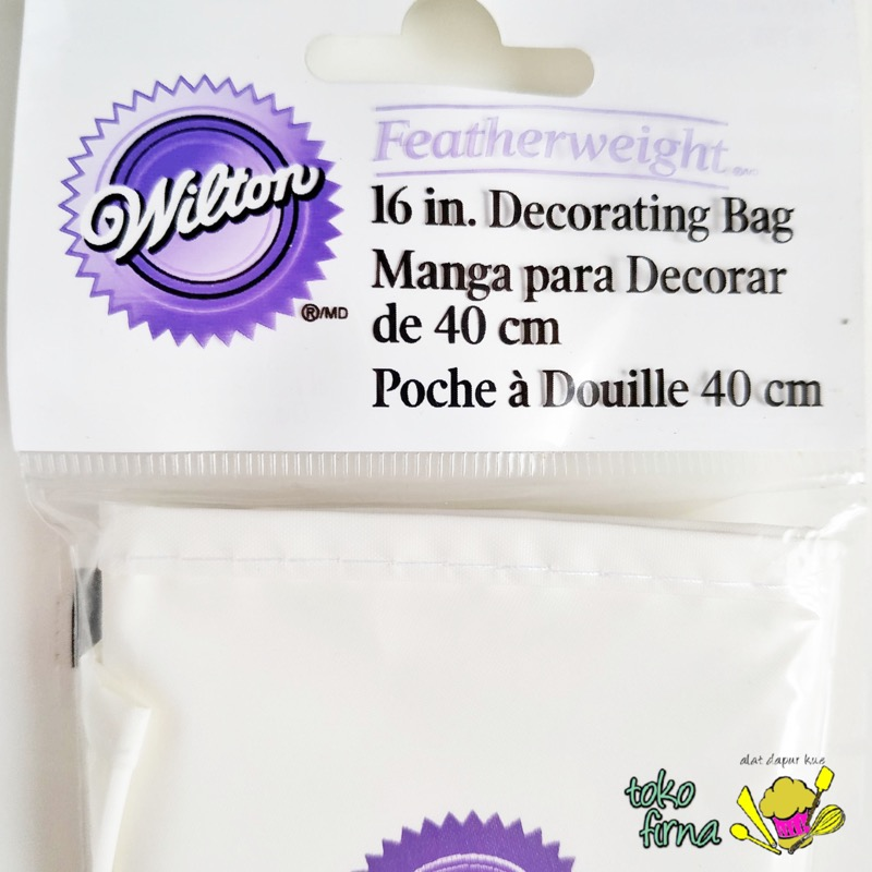 Piping Bag Featherweight 40 cm Wilton - 02