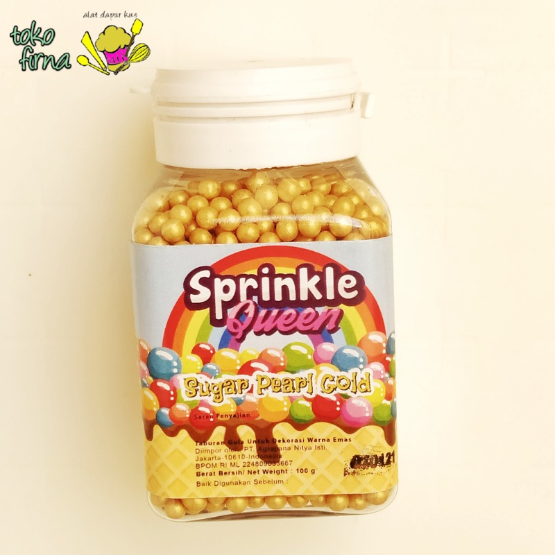 Sprinkle Queen - Gold - 100gr