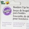 Spuit Set Border Tip Set Wilton Tips - 01