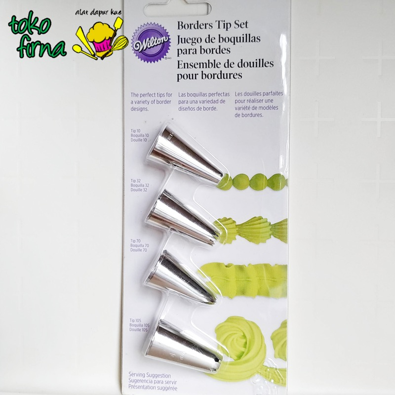 Spuit Set Border Tip Set Wilton Tips - 05