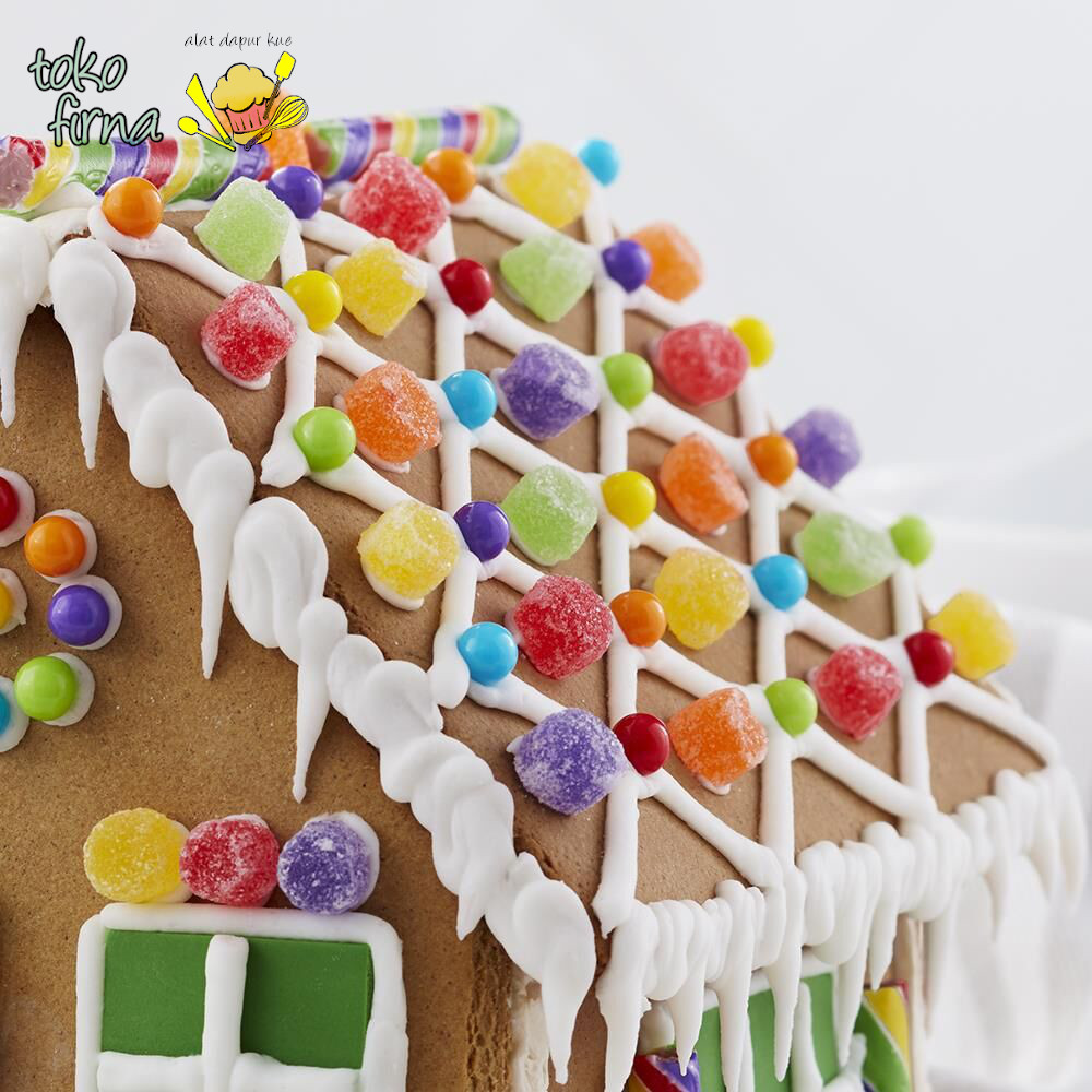 Spuit Wilton Bulat Wilton Round Tip Ideas 09 Gingerbread House Lattice Toko Firna