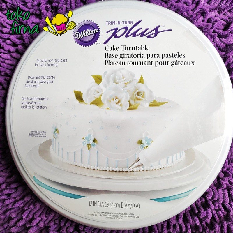 Turn Table - Meja Putar - Lazy Susan - Lebar 30 cm - Wilton - 01