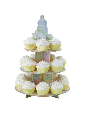 WILTON CUPCAKE STAND BABY FEET