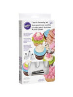 WILTON SPUIT SET CUPCAKE DECORATING 12 PCS REV01