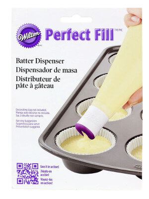 Wilton Perfect Fill Cupcake Batter Tip